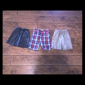 3 pairs of boys shorts 4/$25 sale